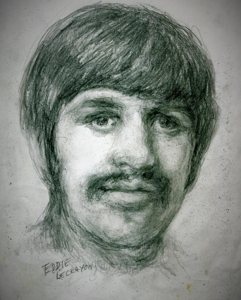 Ringo Starr by EddieLeCrayon